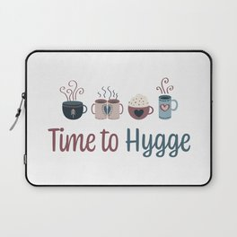 Time to hygge Laptop Sleeve