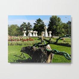 Park of the Revolution in Prilep Metal Print