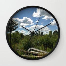 Upstate Trail Nonsense Wall Clock