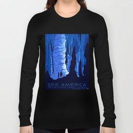 Vintage See America Travel Long Sleeve T-shirt