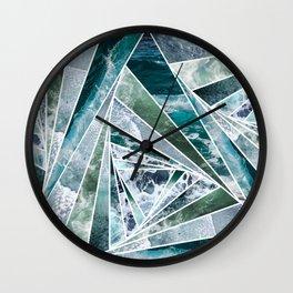 kaleidoscopic ocean Wall Clock
