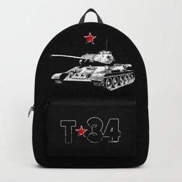 T-34-Tank-Soviet Union-War-WW II Backpack