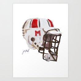 Maryland Bucket Art Print