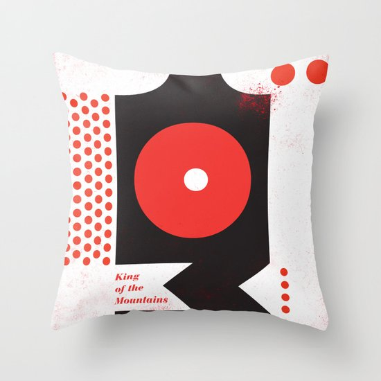 King of the Mountains, Abstract 1 Throw Pillow
