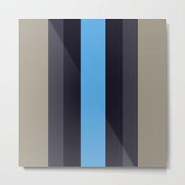 Blue Streak. Metal Print