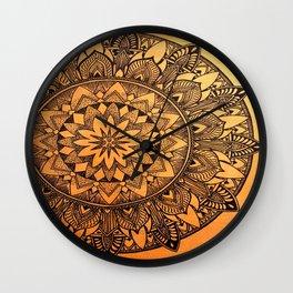 Enigmetic Core Wall Clock
