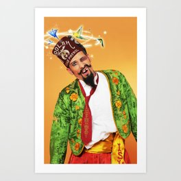 Shriner with a Shiner Art Print