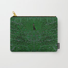 Proud as a Peacock Carry-All Pouch