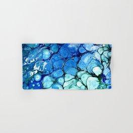 Blue Bubbles Hand & Bath Towel
