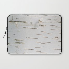 Birch bark pattern Laptop Sleeve