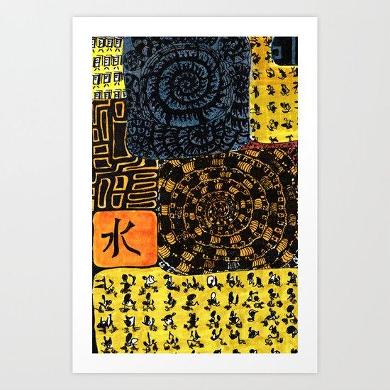 Flodsam 4 Art Print
