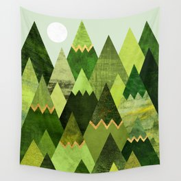 Forest Mountains Wall Tapestry