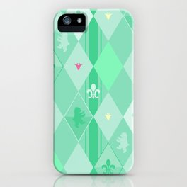 Green Lily Bear iPhone Case