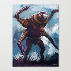 Quad armed mech Canvas Print