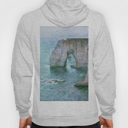 Claude Monet, French, 1840-1926 Manne-Porte, Etretat Hoody