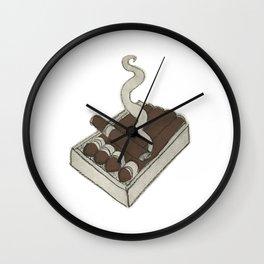 A puff Wall Clock