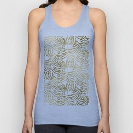 Gold Leaves 1 Unisex Tank Top