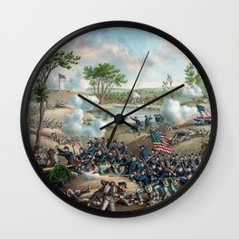 Battle of Cold Harbor Wall Clock