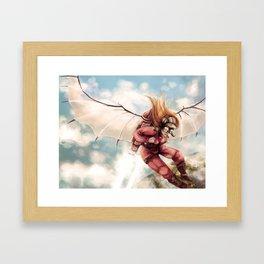 My amazing Flying Machine Framed Art Print