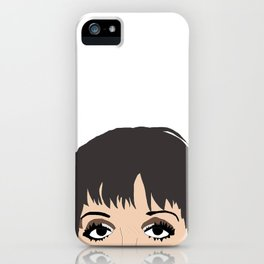 Liza With A Z drawing iPhone Case
