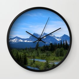 Belly River Wall Clock