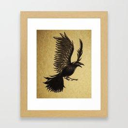 Odin's Crow Framed Art Print