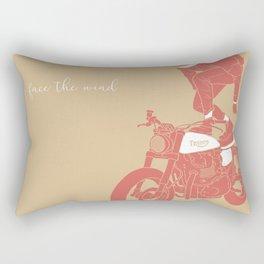 face the wind Rectangular Pillow