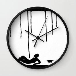 Near Miss Wall Clock