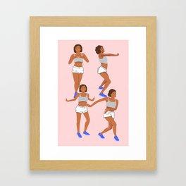 Kiki dance challenge Framed Art Print