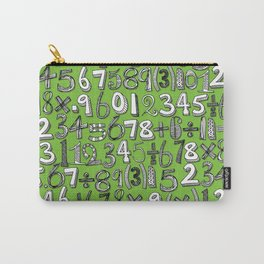 math doodle green Carry-All Pouch