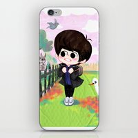 shinee iPhone & iPod Skins featuring SHINee Minho & London Squirrel by sophillustration