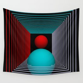 experiments on geometry -8- Wall Tapestry