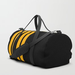 Captain Pilot Stripes Duffle Bag