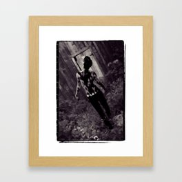 Consume Thy Flesh Framed Art Print