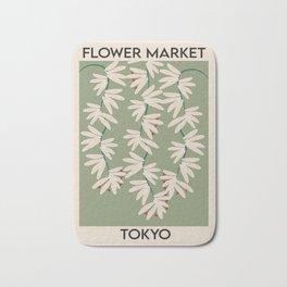 Best Flower Market Bath Mat