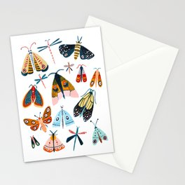 Moth Species Stationery Cards