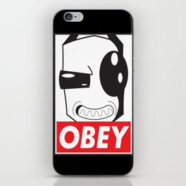 Obey Zim iPhone Skin