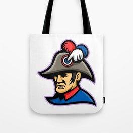 Emperor Head Mascot Tote Bag