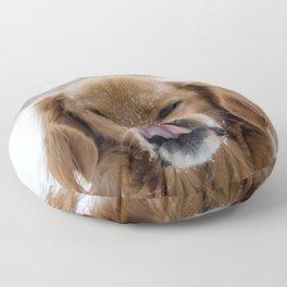 Dog by Marcus Löfvenberg Floor Pillow
