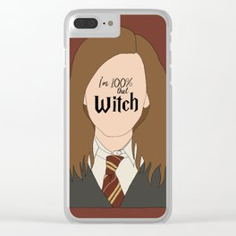 That Witch, Hermione Clear iPhone Case