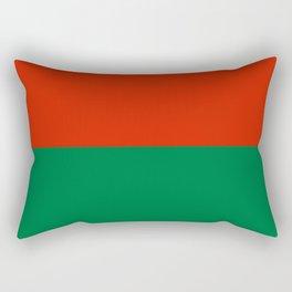 Flag of La Paz Rectangular Pillow