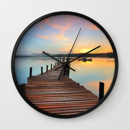 Sunset 2 Wall Clock