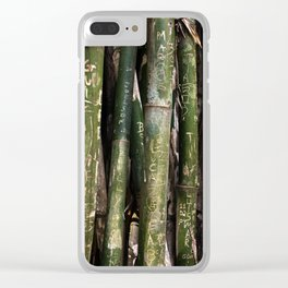 Bamboos in Maringá Clear iPhone Case