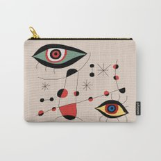 Tribute to J. Mirò (n.1) Carry-All Pouch