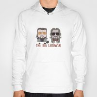 big lebowski Hoodies featuring The Big Lebowski by Francesco Dibattista