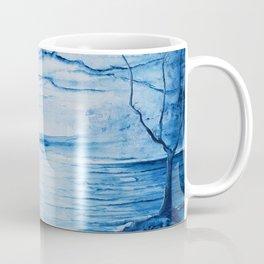 Full moon over shallow water Coffee Mug