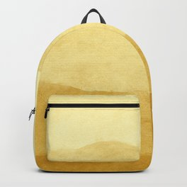 Ombre Waves in Gold Backpack
