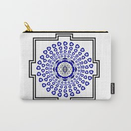 108 Evil Eye Sri Yantra Carry-All Pouch