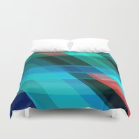 discount Duvet Covers featuring Breaking through by Roxana Jordan