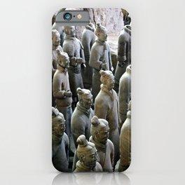 Terra Cotta Warriors  iPhone Case